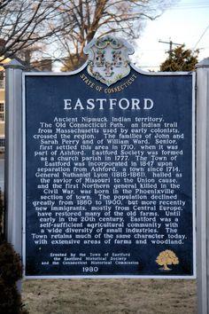 Eastford CT #historical #Eastford #Connecticut #marker