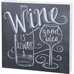 Celebrate your love of vino with this chalkboard-inspired wall decor, perfect hu. Celebrate your love of vino with this chalkboard-inspired wall decor, perfect hung above the home bar or pub table. Chalkboard Wall Kitchen, Chalkboard Wall Art, Chalk Wall, Chalkboard Lettering, Chalkboard Designs, Hand Lettering, Chalk Board, Chalkboard Ideas, Wine Signs