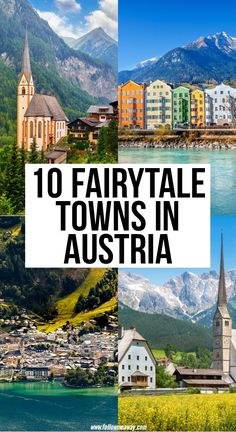 10 Prettiest Towns In Austria Out Of A Fairy Tale - 10 Fairytale Towns In Austria Europe Travel Guide, Europe Destinations, Travel Guides, Best Places To Travel, Cool Places To Visit, Places To Go, Austria Travel, European Travel, Where To Go