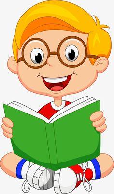 Illustrator of children PNG and Clipart Reading Cartoon, Cartoon Kids, School Murals, School Frame, School Clipart, Clip Art, School Decorations, Young Boys, Classroom Decor