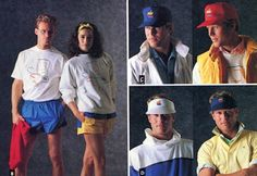 En 1986, les designers de chez Apple ont élaboré une collection de vêtements qu'ils appelèrent «The Apple Collection». L'idée était de produire une gamme de vêtements «populaires» que tout le monde pourrait porter fièrement. Nous sommes loin du modernisme et du design épuré des produits Apple ac