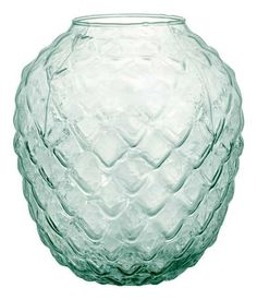 Large Clear Glass Vase