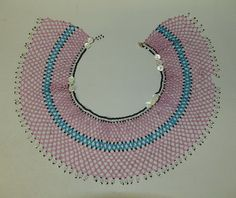 A beaded collar which used to be worn by the Xhosa in the Eastern Cape, South Africa