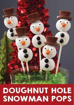 Give Snowmen dapper chocolate top hats! @partycity