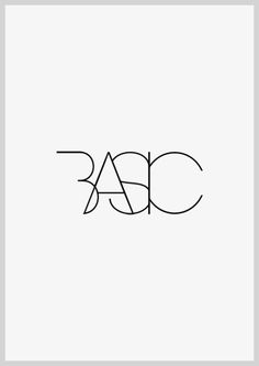 Between | User experience design - logo for basic stuff for a brand