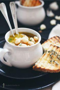 white bean & rosemary soup