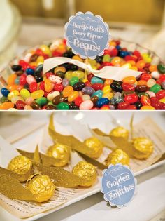 Harry Potter dessert table - Greg Obierek Photography via Hostess With The Mostess