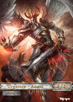 $7 - 3X Angel 4 Custom Altered Tokens Mtg (For Geist Of Saint Traft) #ebay #Collectibles