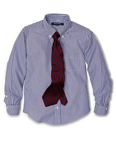 Non-Iron Bengal Stripe Dress Shirt