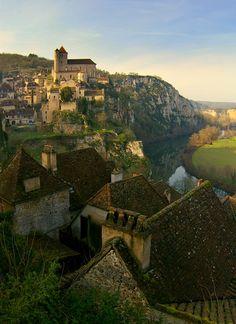 Saint-Cirq-Lapopie - Loire, France; Photograph by Adam Baker