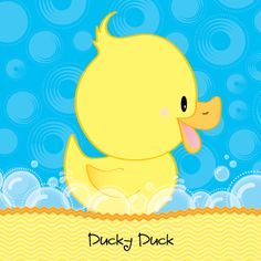 rubber ducky baby shower decorations - Google Search