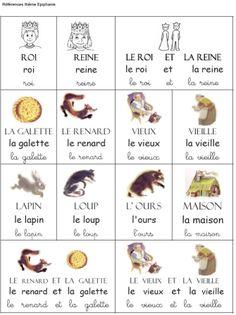 """Thème de Janvier : """"Roule galette"""", les rois et les reines - Activités pour la Grande Section Maternelle"""