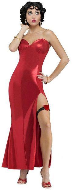 Red dress cartoon 50th