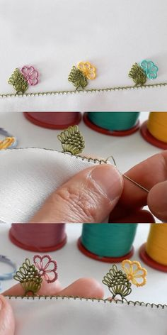 Yöresel Başörtüleri İçin İğne Oyası Yazma Modeli Needle Tatting Patterns, Crochet Patterns, Needle Lace, Thread Work, Bargello, Filet Crochet, Learn To Sew, Lace Knitting, Hand Embroidery