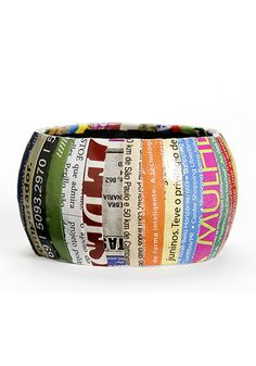 Rainbow Eco-Cuff Bracelet