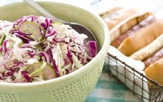 Refrigerator Pickled Slaw - Recipes - Whole Foods Market Cooking Boulder Vegan Vegetarian, Vegetarian Recipes, Healthy Recipes, Paleo, Whole Food Recipes, Cooking Recipes, Good Food, Yummy Food, Tasty