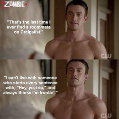"""#iZombie 1x04 """"Liv and Let Clive"""" - Major"""