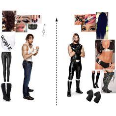 Dean Ambrose & Anna Rose vs Seth Rollins & Sarah May