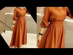 Girls Dresses Sewing, Frocks For Girls, Sewing Clothes, Girls Frock Design, Types Of Dresses, Trendy Dresses, Designer Dresses, Stitches, March