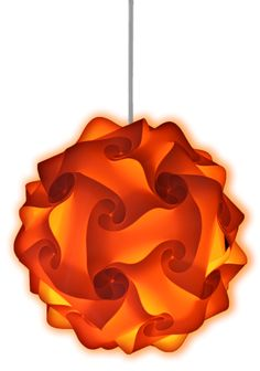 This modern, stylish orange lamp create the wow factor in any home, bar, restaurant or event. Available in a wide range of colors!
