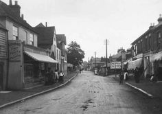 Rumbridge Street, Totton,  c1906 New Forest, Southampton, Old Photos, Street View, Image, Old Pictures, Vintage Photos, Old Photographs