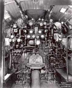Cab Interior Builders Photograph E.14920 dated 12-10-46 Built by Baldwin: