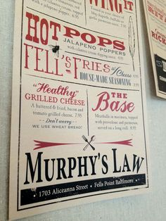 Murphy's Law  Baltimore, MD