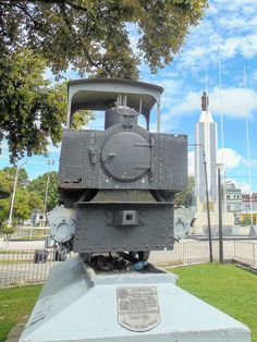 Rastros del Ferrocarril Urbano parte de la Historia de Iquitos, Perú.