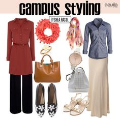 If you're a student, you spend more than half your day in school. Shea Rasol guides you to dressing right.