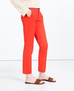 Image 3 of CHINO TROUSERS from Zara