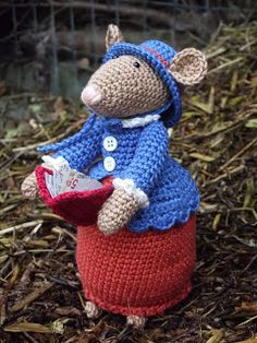 78 Beste Afbeeldingen Van Dickens Muizen Crochet Mouse Crochet