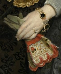 Detail from Mother and Child, Cornelis de Vos, 1624