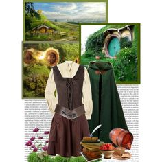 In The Shire / Concerning Hobbits by darksweetlady on Polyvore featuring Twenty8Twelve, Société Anonyme and Topshop