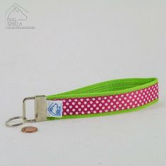 """Schlüsselanhänger """"Dots"""" pink  8,90€"""