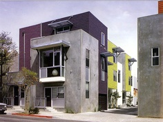 Row Homes on F Street, San Diego