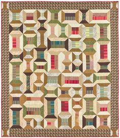 Spoolin' Around Quilt Pattern by lnownes on Etsy, $9.99