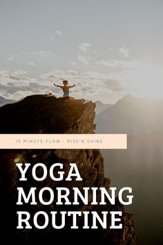 Looking for the perfect routine to start into your day?  Join me on this gentle rise'n shine yoga flow,  softly waking up body, mind and soul.  May you have the most beautiful day.   Find more free resources on www.franziskalenz.com  | #morningyoga #morningroutines #riseandshine #yogaeveryday #yogaflow #happyday #yogaroutine Morning Yoga Routine, Yoga Everyday, Yoga Flow, Beautiful Day, Join, Mindfulness, Free, Consciousness, Awareness Ribbons