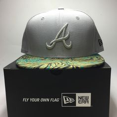 New era mlb #9fifty atlanta #braves snapback #baseball holiday cap o g free post,  View more on the LINK: http://www.zeppy.io/product/gb/2/172348604587/