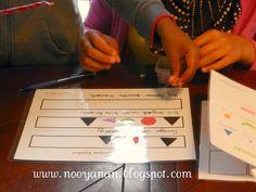 Montessori Grammar | Noor Janan Homeschool:  free printable grammar symbols, booklet and sentence workmat.