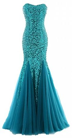 Lilibridal Bridesmaid Strapless Mermaid Sequins Ruching Tulle Wedding Dress * Amazing product just a click away : Wedding Dresses Orange Prom Dresses, Classy Prom Dresses, Sequin Bridesmaid Dresses, Cheap Party Dresses, New Wedding Dresses, Sequin Dress, Bridal Dresses, Bridesmaids, Tulle Wedding