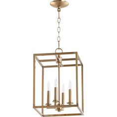 Buy the Quorum International Aged Brass Direct. Shop for the Quorum International Aged Brass 4 Light Wide Taper Candle Chandelier and save.