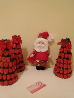 E o natal está chegando! Peça sua árvore de balas de morango e decore seu ambiente ou presenteie com esse mimo♡