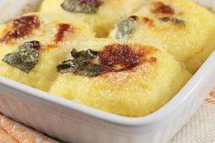 Gnocchi di polenta con cuore di gorgonzola