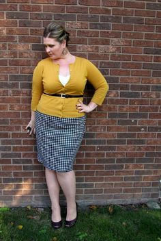 Plus Size Fashion for Women - Plus Size Work Outfit - Business casual