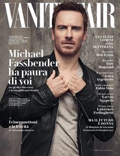 Michael Fassbender for Vanity Fair Italia January 13, 2017