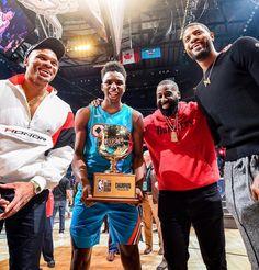 "167be12b41a Oklahoma City Thunder on Instagram  ""🏆 Team Hamidou 🏆"". Basketball  UniformsBasketball HoopNba ..."