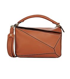 404a1b7b3721 loewe puzzle shoulder bag $2350 Brown Crossbody Purse, Crossbody Shoulder  Bag, Shoulder Handbags,