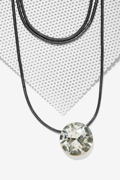 Crystal Eyes Collar Necklace - Accessories | Necklaces