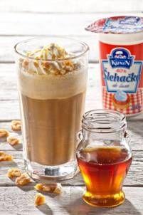 Pint Glass, Latte, Pudding, Beer, Coffee, Drinks, Tableware, Desserts, Food
