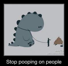 meet my pet dinosaur